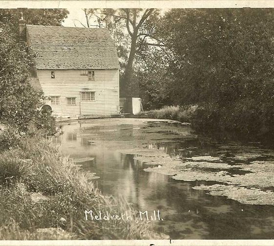 Topcliffe Mill and millpond, 1930s | Bell's Postcard supplied by Ann Handscombe