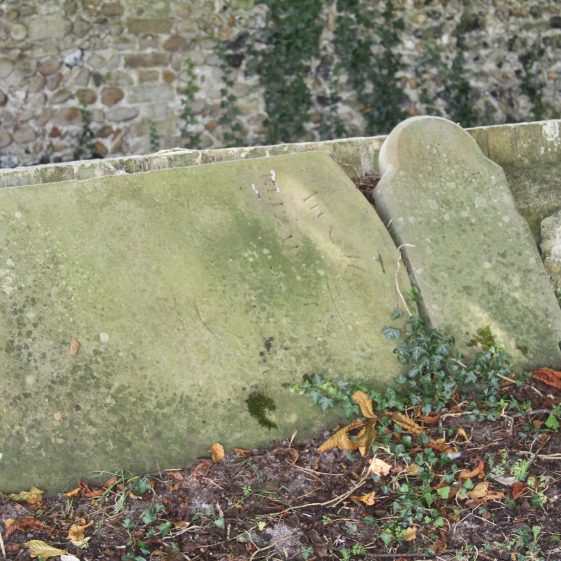 lh headstone could be no. 60 | Photograph by Malcolm Woods