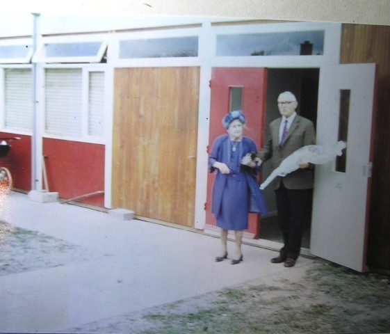 Meldreth Village Hall official opening by Daisy Dainty on 2 June 1977 | Meldreth W.I.