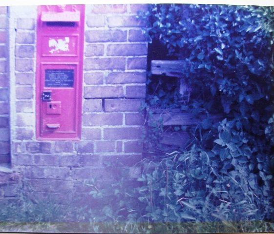 Victorian letterbox near Station | Meldreth W.I.