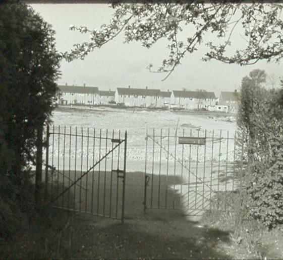 View from 64 High Street towards Howard Road in 1963. | Ann Handscombe