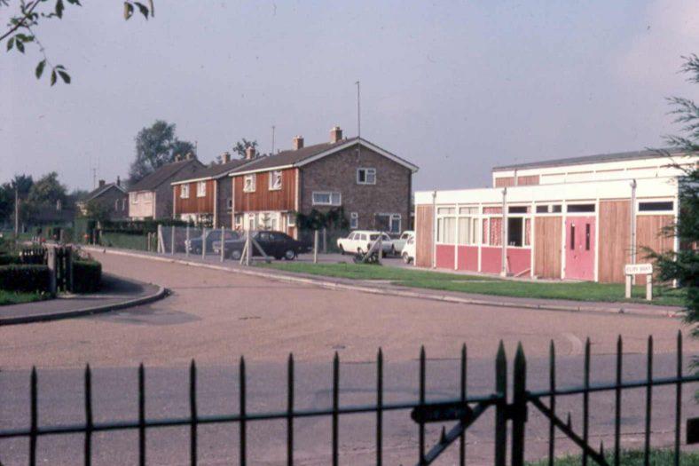 <b>Corner of High Street and Elin Way: the old Meldreth Village Hall</b>