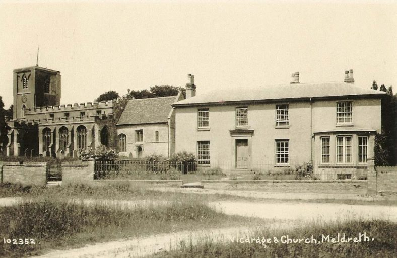 <b>North End: Holy Trinity Church and Vicarage</b> | Bell's Postcard, 1920s