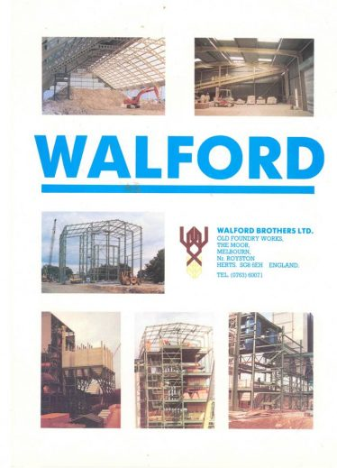 (10) Walford Brothers advertisement