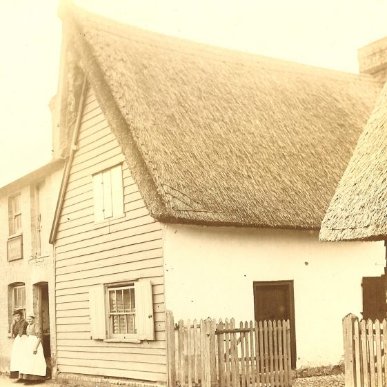 Warren's Bakehouse, High Street, Meldreth.  Now the One Stop village shop. | Photograph supplied by John Gipson