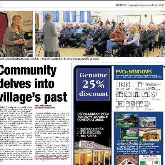 Royston Weekly News | 4th April 2013