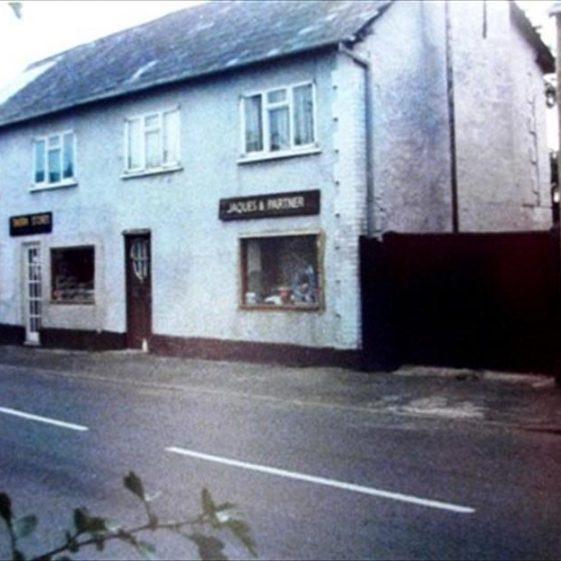 Shops in High Street, Meldreth, formerlty the Railway Tavern P.H.  c.1977 | Photo supplied by Meldreth W.I.