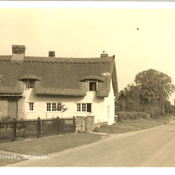 Willow Way Cottages c. 1960 | Postcard supplied by Brian Clarke