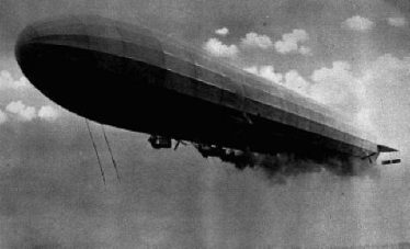 A Zeppelin First World War Airship | www.historyonthenet.com